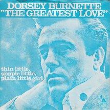Image result for the greatest love dorsey burnette images