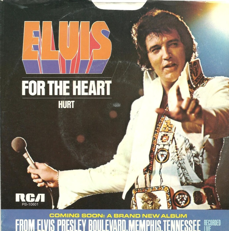 Image result for Elvis presley hurt single