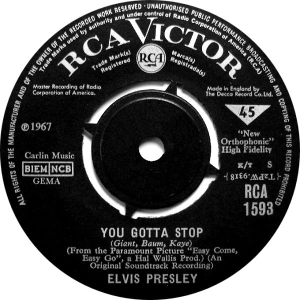 Image result for You Gotta Stop elvis presley