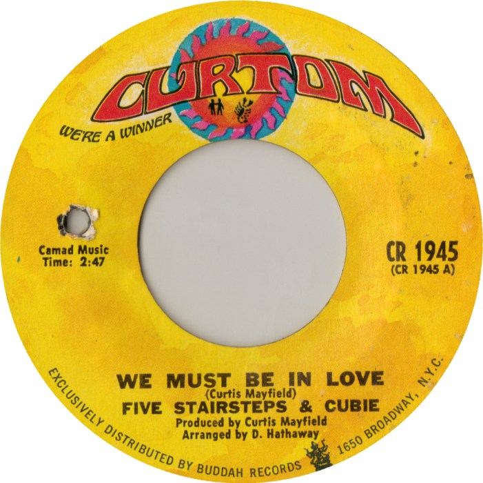 Image result for we must be in love the five stairsteps single images