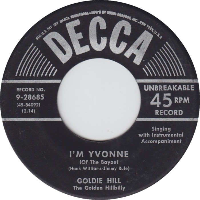 Image result for goldie hill yvonne bayou