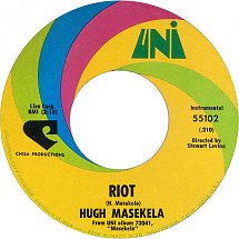 Image result for hugh masekela riot images