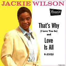 Image result for jackie wilson that's why i love you so