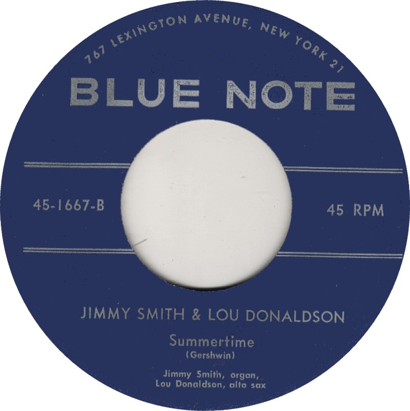 45cat  Jimmy Smith  How High The Moon Summertime