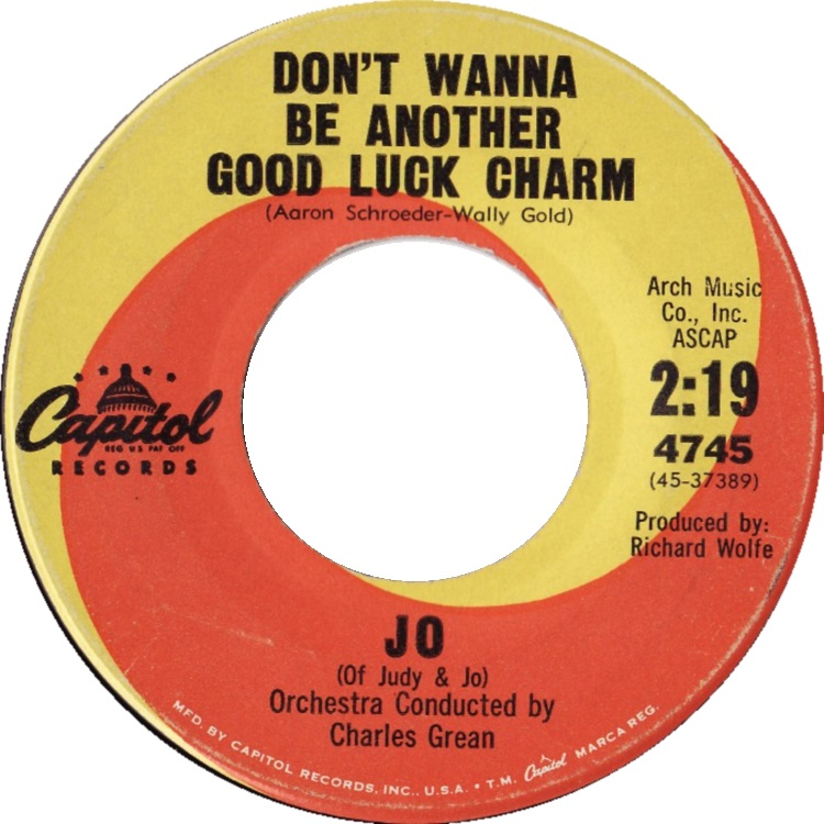 Image result for Don't Want to Be Another Good Luck Charm