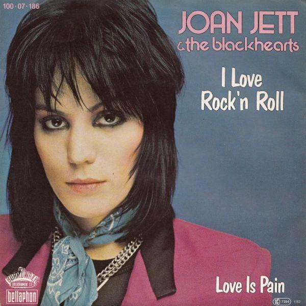 45cat Joan Jett And The Blackhearts I Love Rock39n Roll