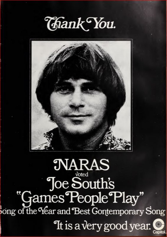 Image result for joe south poster