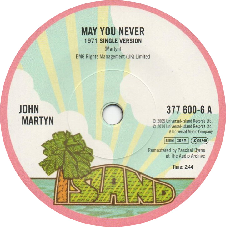 45cat  John Martyn  May You Never  May You Never