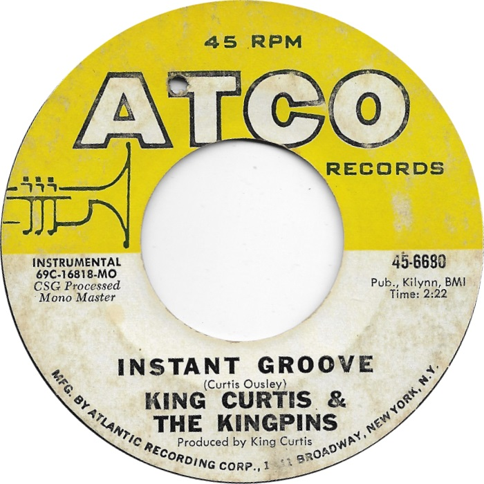 Image result for king curtis instant groove