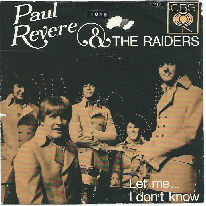 Image result for paul revere and the raiders let me images
