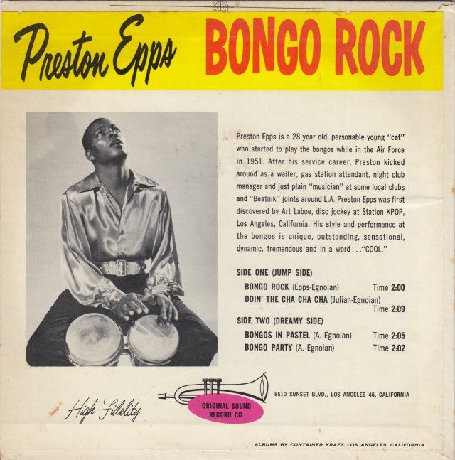 Image result for preston epps bongo bongo bongo
