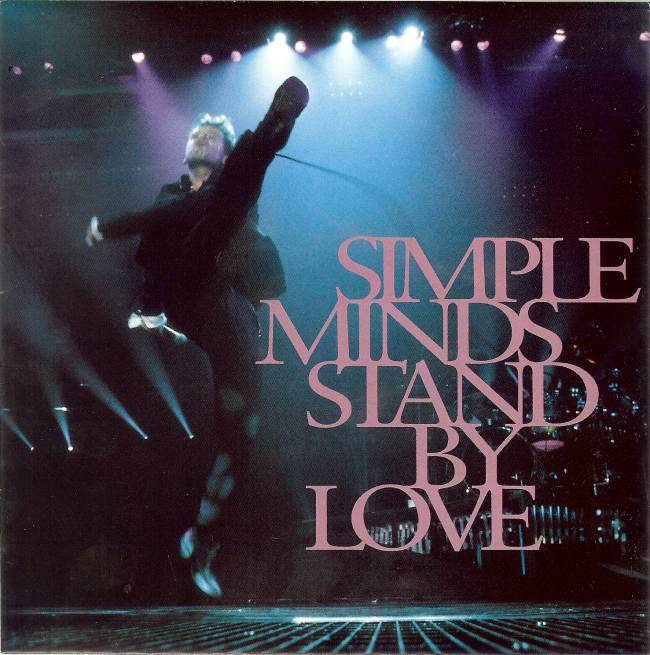 45cat Simple Minds Stand By Love King Is White And