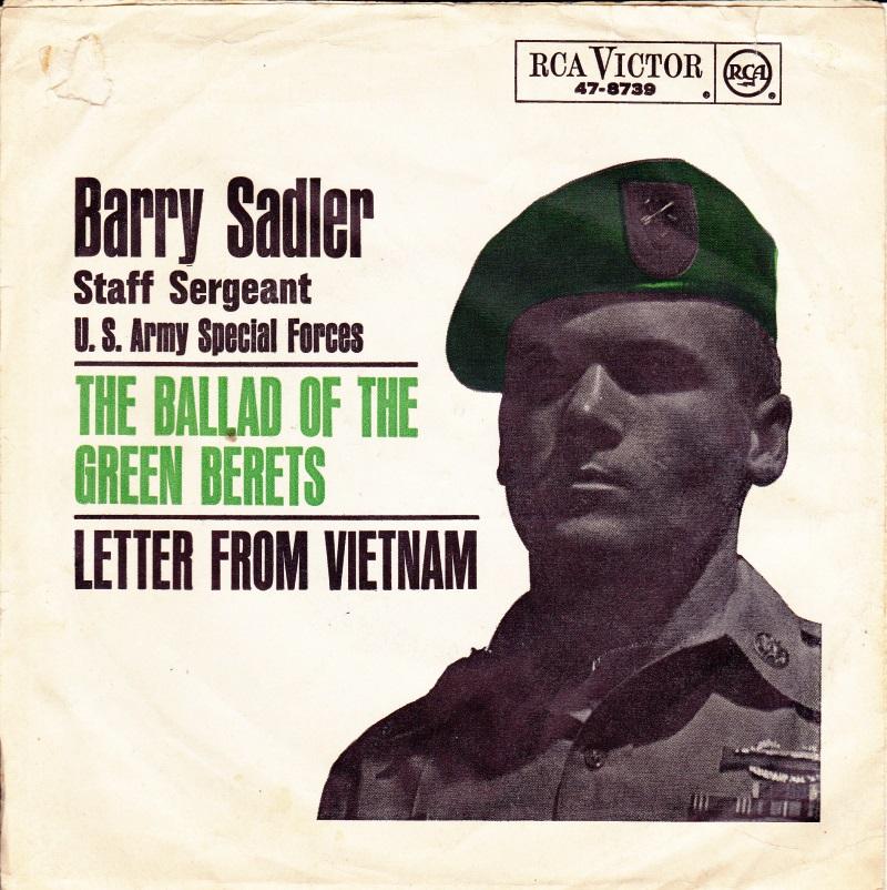 45cat  Staff Sergeant Barry Sadler  The Ballad Of The
