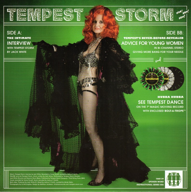 45cat  Tempest Storm  The Intimate Interview  Advice