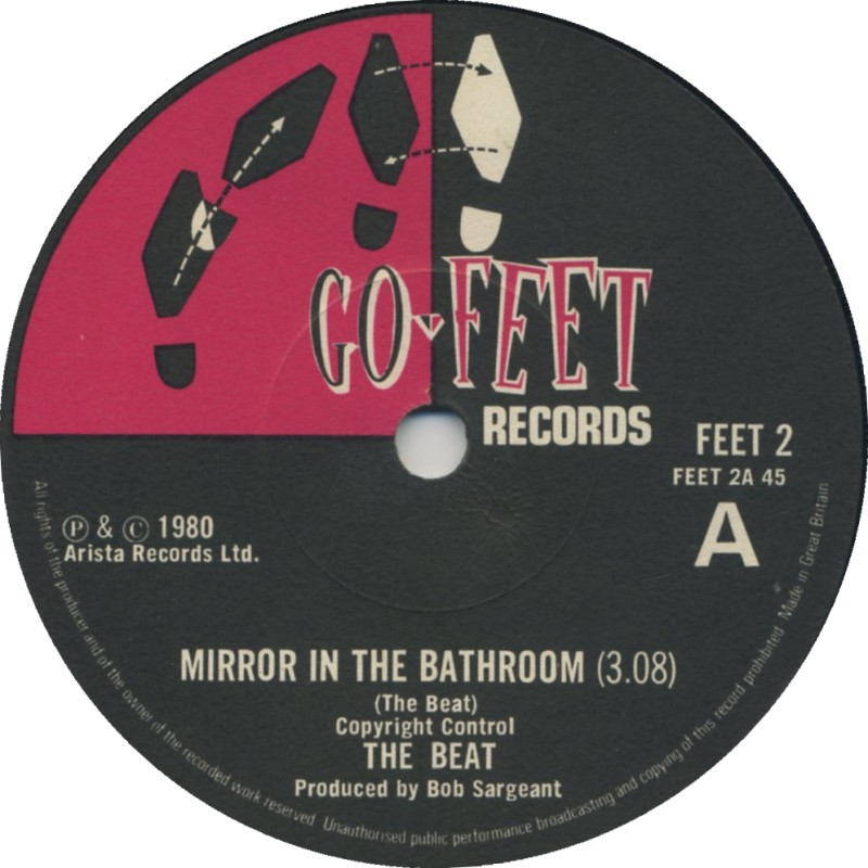 The Beat Mirror In The Bathroom