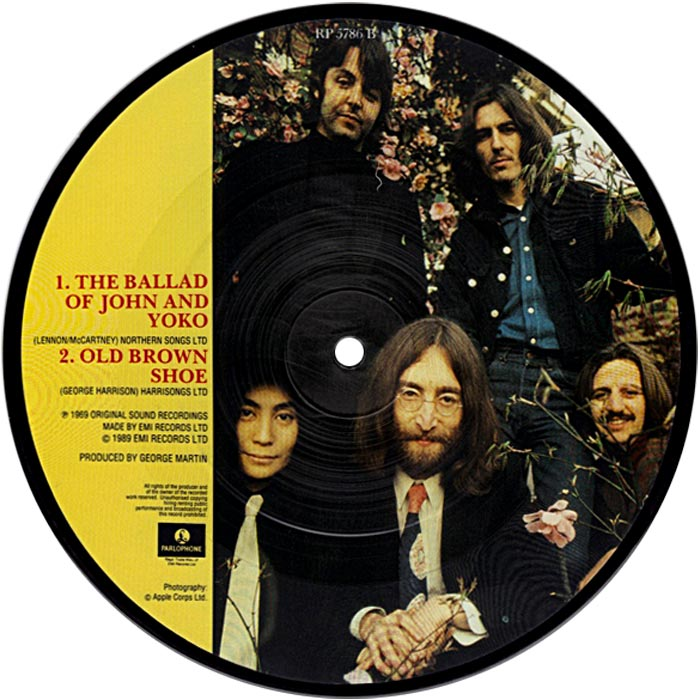 Image result for the beatles old brown shoe images