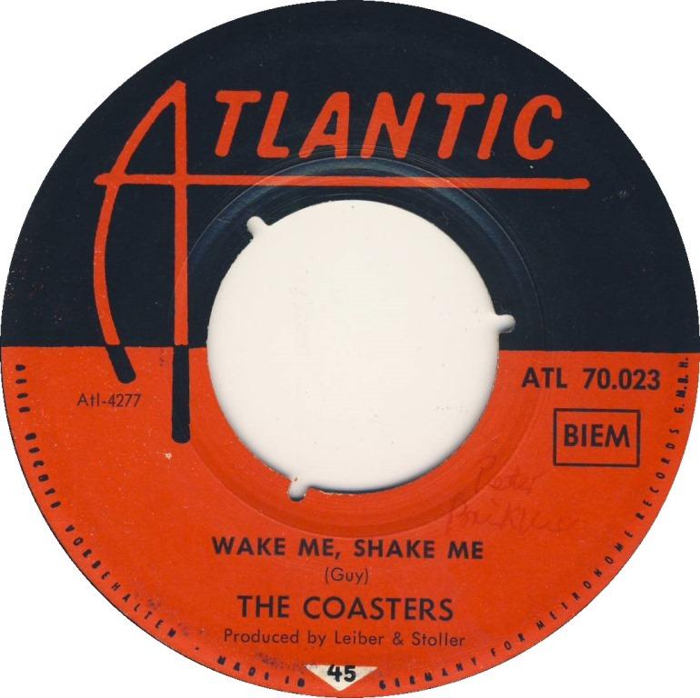45cat  The Coasters  Wake Me, Shake Me Stewball