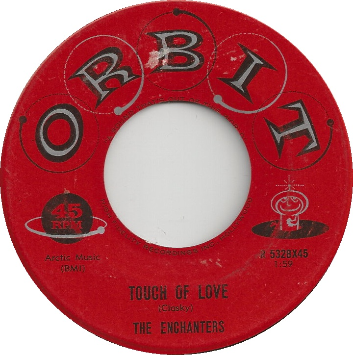 45cat  The Enchanters Orbit  Cafe Bohemian  Touch Of Love  Orbit  USA  R 532