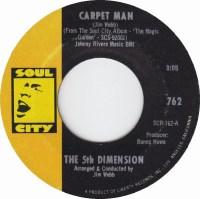 45cat - The 5th Dimension - Carpet Man / The Magic Garden ...
