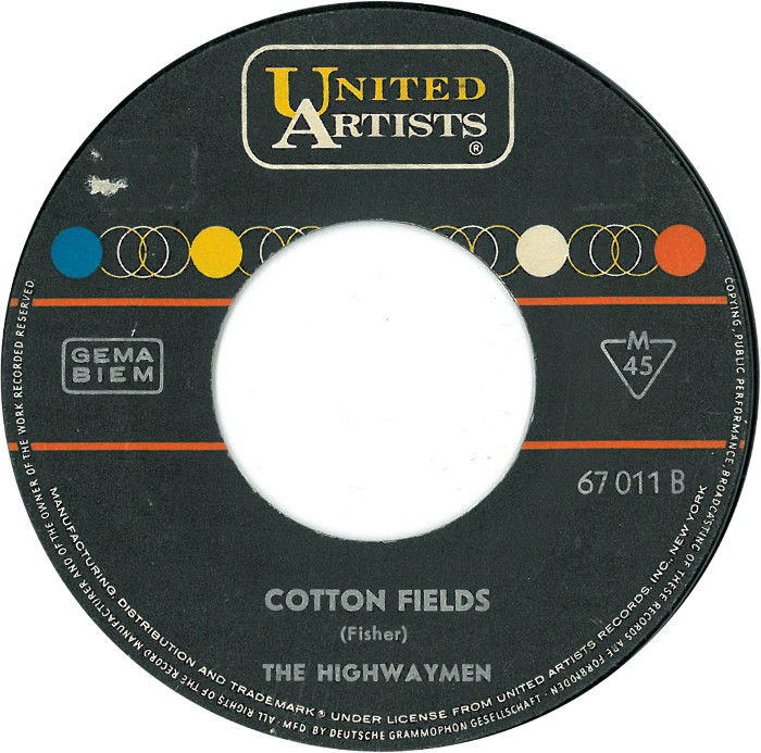 Image result for cotton fields highwaymen