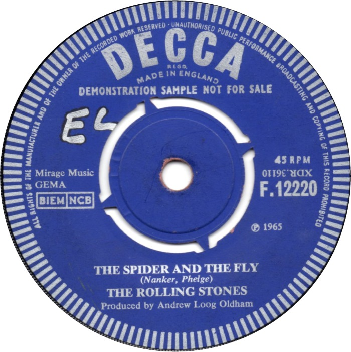 Image result for the rolling stones the spider and the fly images