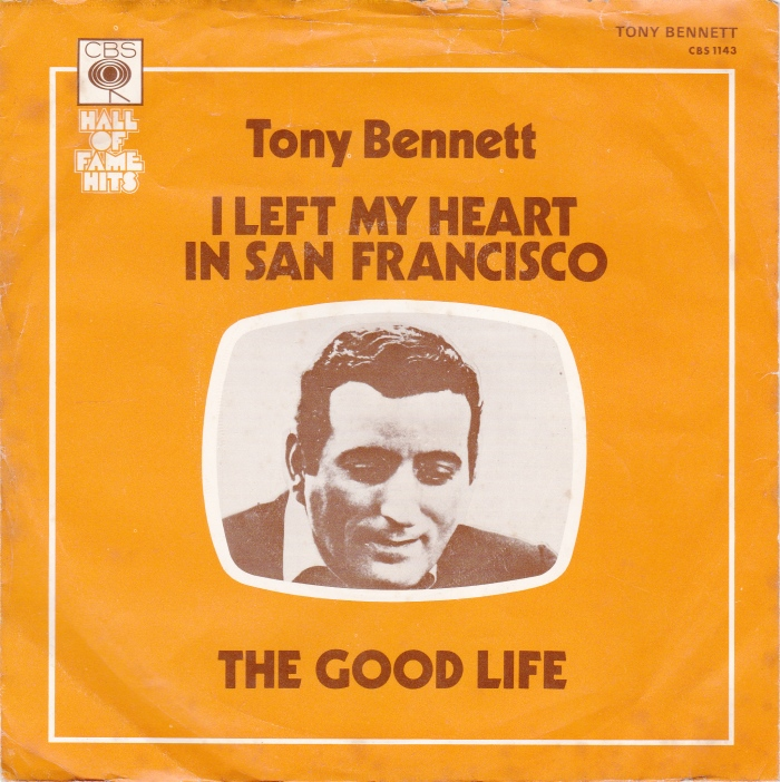 Image result for tony bennett i left my heart in san francisco
