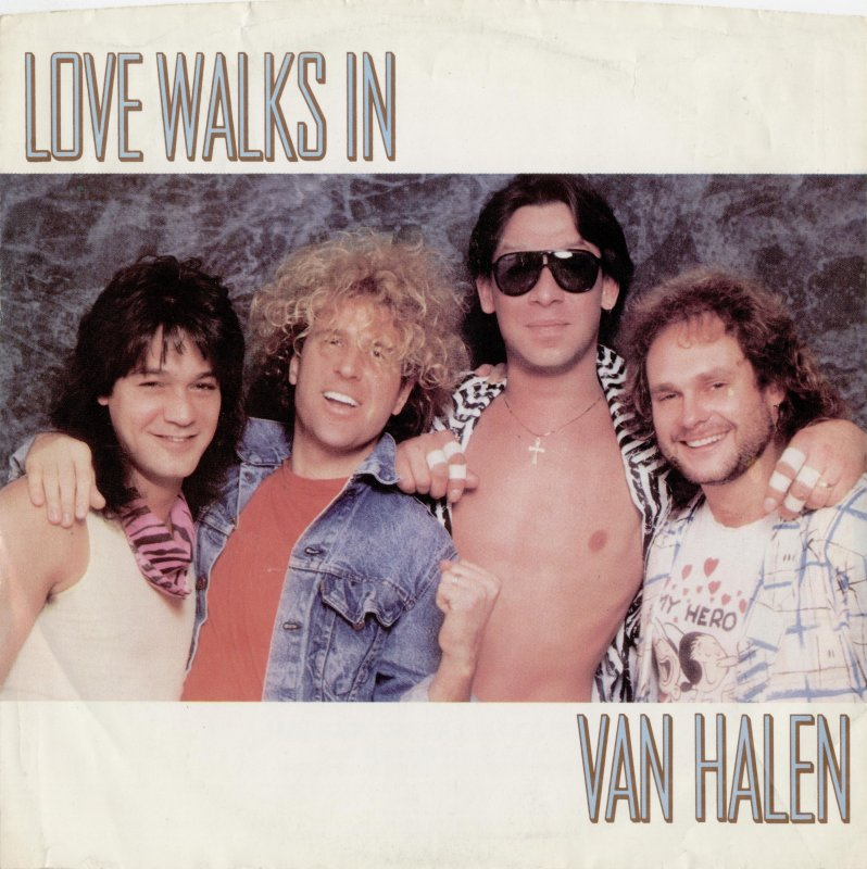 Love Walks Van Halen Live