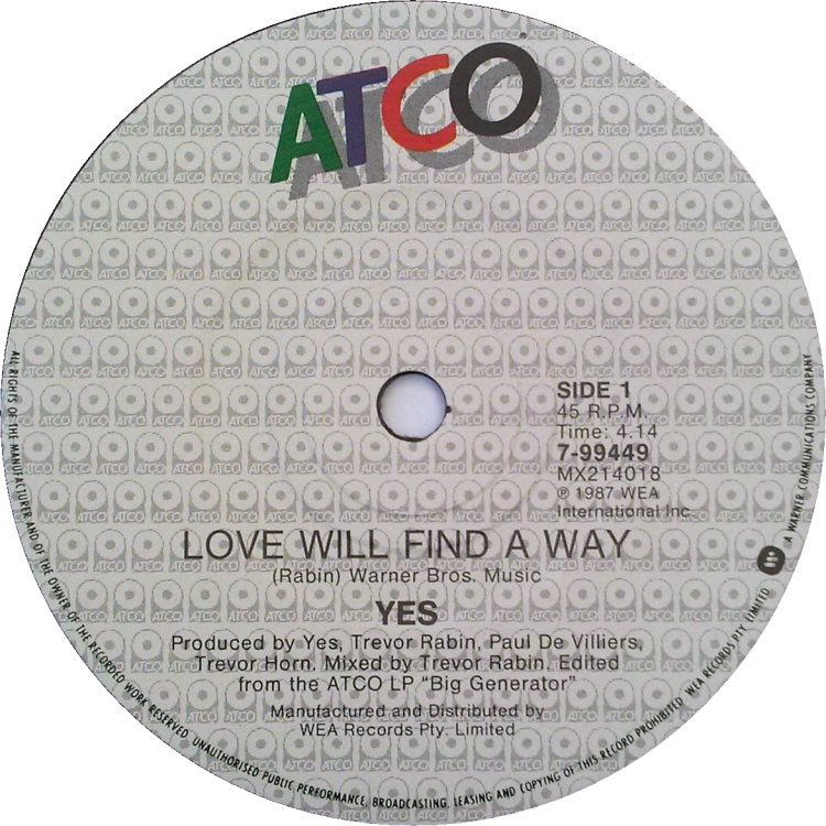 Yes Love Will Find Way