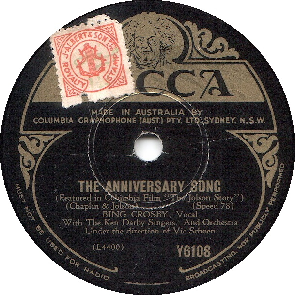 78 rpm bing crosby