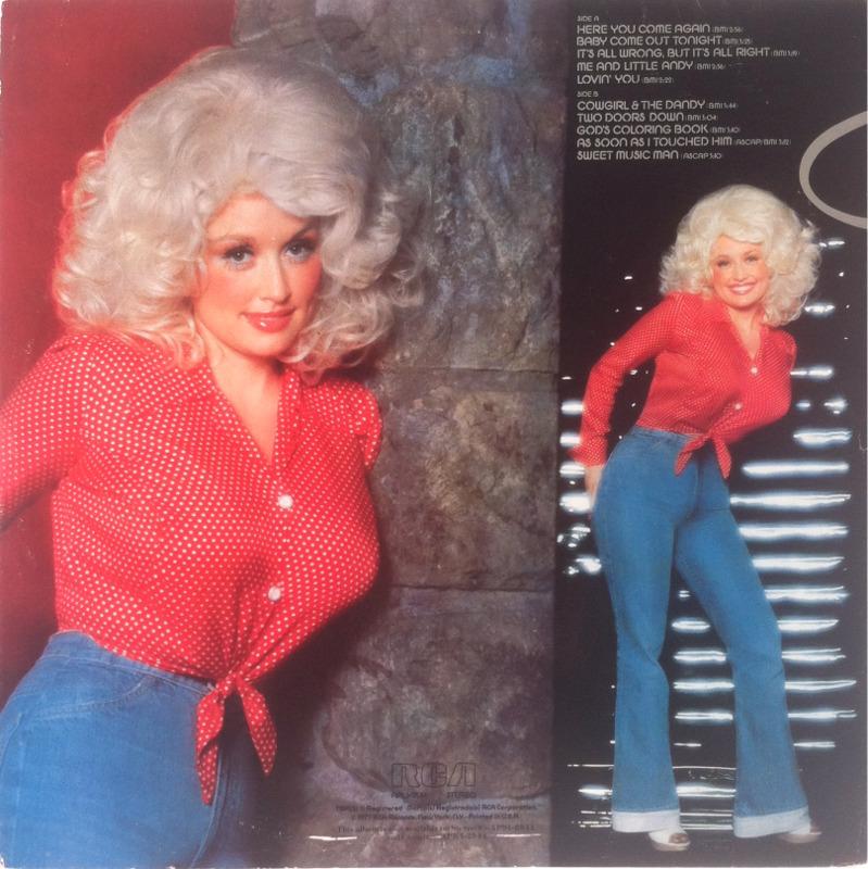 Vinyl Album Dolly Parton Here You Come Again RCA
