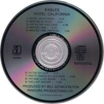 Cd Album - Eagles Hotel California Asylum International