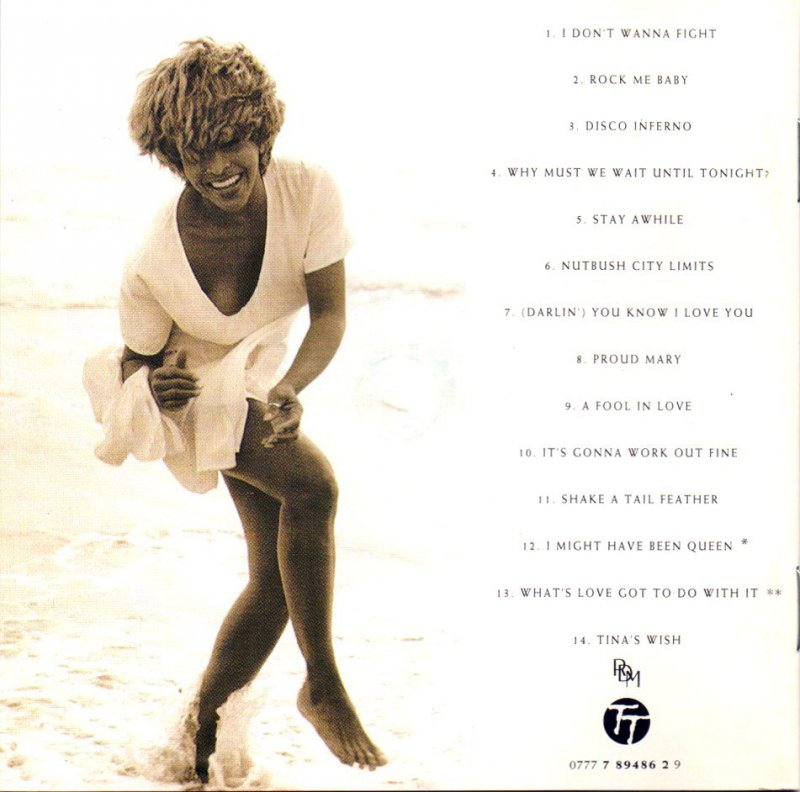 cd album tina turner