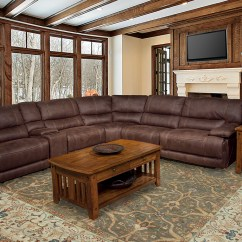 Power Sofa Recliner Mechanism Bed King Size Parker Living Pegasus 6 Piece Brown Reclining ...