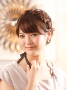 蓬鬆盤髮♡被邀請參加婚禮時就決定這個髮型了☆ | 4MEEE | For me