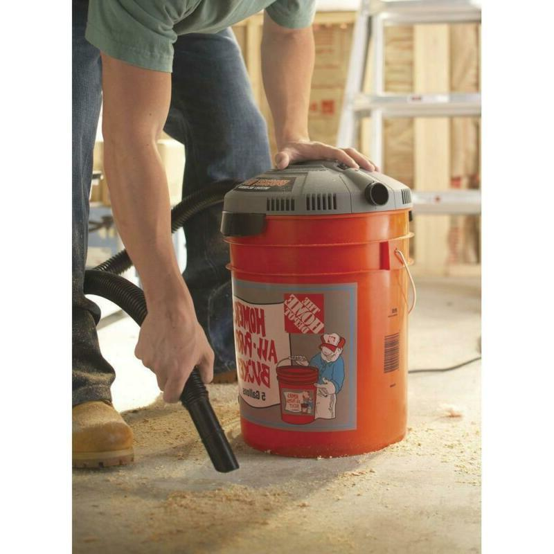 5 Gallon Bucket Vacuum Cleaner