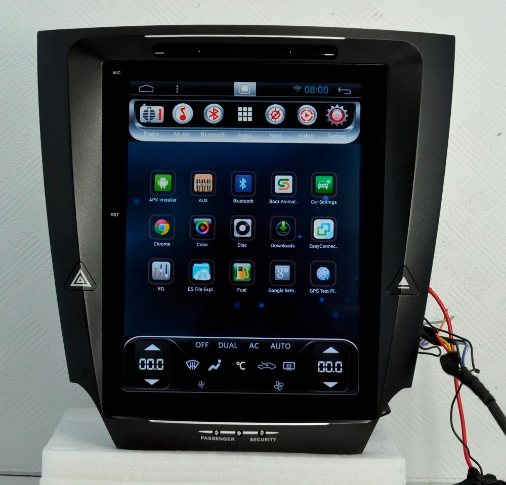 12 1 Tesla Vertical Screen Android Headunit Autoradio