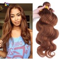 Brazilian human hair Body wave Human Virgin hair Bundles ...