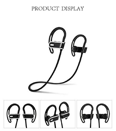 Bluetooth Headphones,ALFHEIM Wireless Sports Earphones