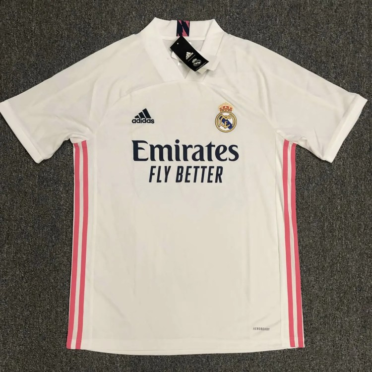 2020-2021 Real Madrid Home Jersey 20/21 Real Madrid Jersey ...