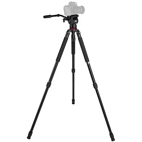 Aluminum alloy Hydraulic Video Tripod