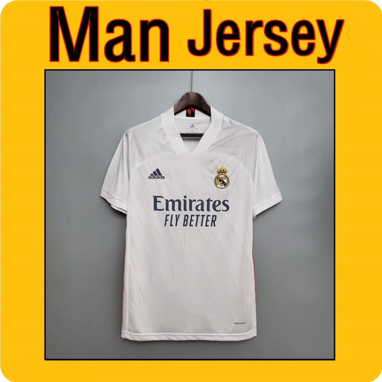2020-2021 Men Real Madrid Home Jersey