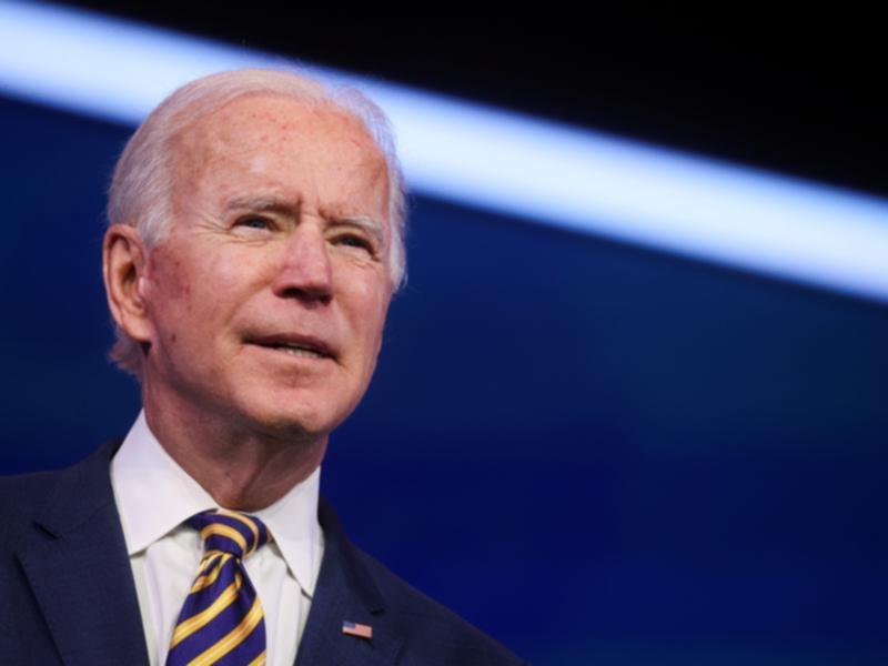 President-elect Joe Biden speaks on the US coronavirus response