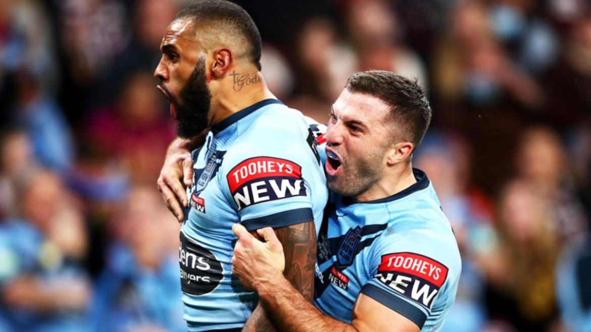 NSW have wrapped up this year's State of Origin series.