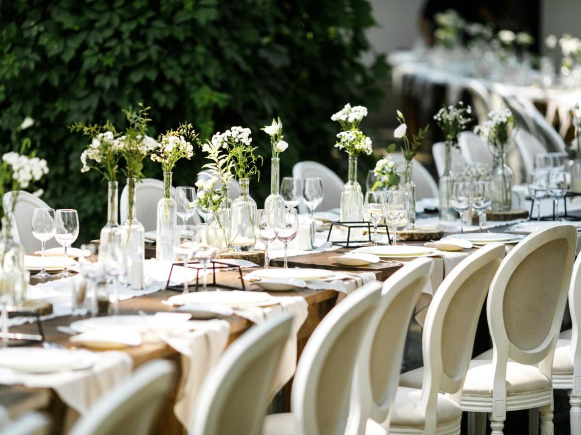 The wedding guest said the couple had overspent on the wedding location, hoping for an 'opulent' event. File image.