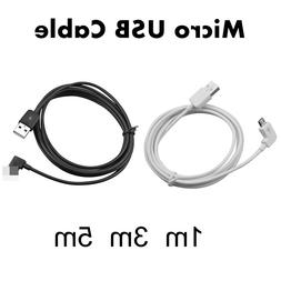 1M/3M/5M 90 Degree Micro USB Cable Fast Charging
