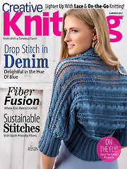 Creative Knitting Summer 2017 - Electronic Download