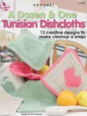 A Dozen & One Tunisian Dishcloths - Electronic Download