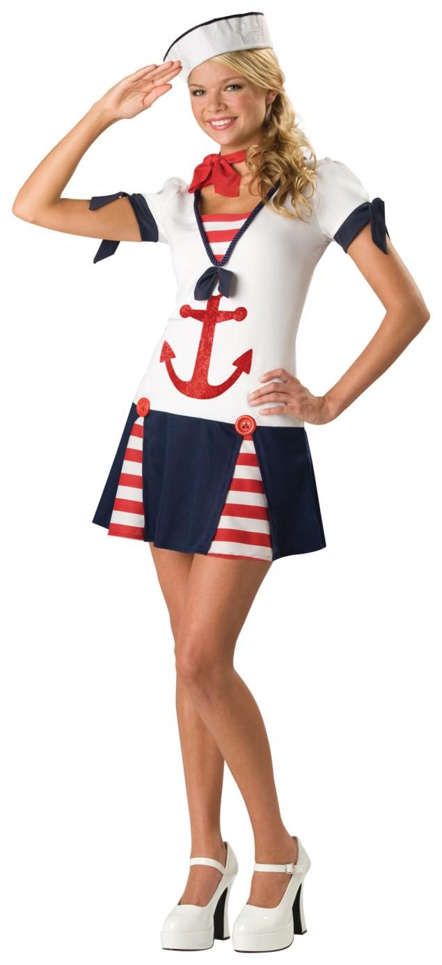 Sassy Sailor Teen Costume