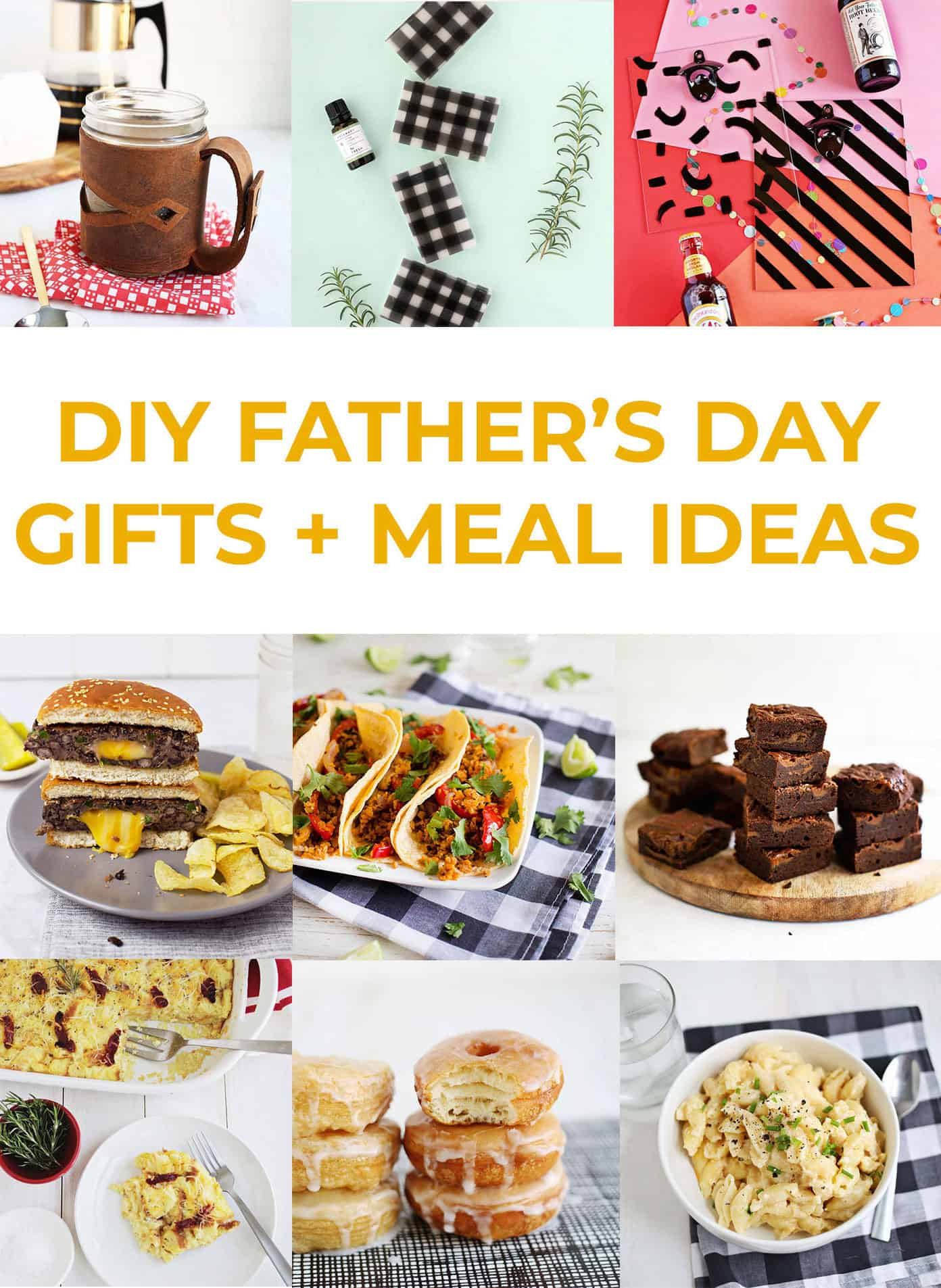 Homemade T Meal Ideas For Father S Day