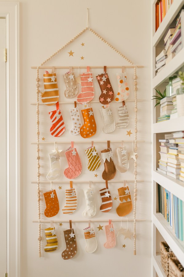Heirloom Advent Calendar Diy - Beautiful Mess
